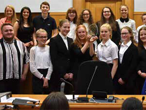 Through to the National Finals – the Magistrates Mock Trial team have won again